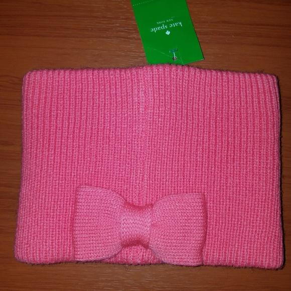 90c22381a3b New Kate Spade Pink Bow Earwarmer   Headband